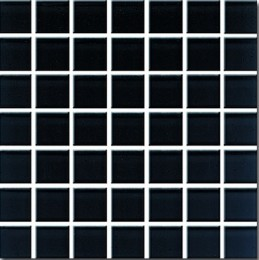 Mosaic DOMENICO black glass  20 20